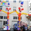 Finego Inflatable Dancing Air Sky Dancer Tube Man Puppet