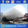 Factory Sale 3 Alxes LPG Tanker LNG Tank Semi Trailer