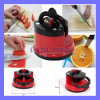 Knife Grinder Sharpener with Suction Pad Scissors Grinder Secure Suction Chef Pad Kitchen Sharpening Tool (SL-526)