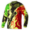 Wholesale Custom Sublimation Motocross Jersey/Motorcycle Jersey (MAT43)