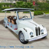 Cheap 8 Seaters White Electric Vehicle