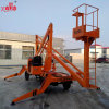 Aerial Repair Trailer Movable Folding Arm Boom Lifting Platform