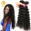 Cheap Brazilian Curly Hair Brazilian Deep Curly Virgin Hair 4bundles Human Hair Extensions 10A Brazilian Virgin Curly Hair Weave