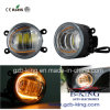 New Arrival IP67 3.5 Inch LED Fog Lamp with White/Ice Blue/Amber Halo Ring