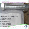 Hot DIP Galvanized M22 DIN 933 Hex Bolts and DIN 934 Nuts