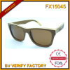 Fx15045 Wholesale New Design High Quality Wood Sunglasses