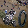 Motorcycle Tyre Cross Country Pattern