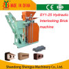 Manual Hydraulic Soil Cement Interlocking Brick Making Machine