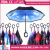 Custom Print C Type Upside-Down Outdoor Reverse Umbrella