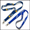 Pantone Color Dye Sublimated/Thermal Transfer Logo Custom Lanyard for Factory