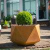 Corten Steel Flower Pot (FO-9C52)