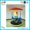 Welcomed Funny Kids Ride Mushroom Flying Chair