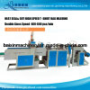Heat Cut High Speed Garbage Bag T Shirt Bag Making Machine 640 PCS/Min