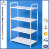 4 Layers Metal Book Shelf for Home Storage