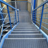Non-slip stair treads with handrail from honest manufacturer