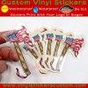 Custom Self Adhesive Vinyl See Through Clear Transparent Stickers