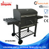 High-Temperature  Painted  Lid Black Outdoor Backyard Grill for BBQ
