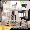 Banquet Round Rotating Dining Table with Marble Top