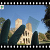 3.2mm-4mm Ultra Clear Tempered Solar Glass