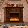 Simple European Sculpture Heating Electrical Fireplace (322S)