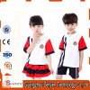Primary Summer School Uniforms 100% Cotton Kids School Uniform Design