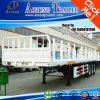 Flatbed Container Side Wall Cargo Semi Trailer with Locks