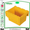 600*400*315mm Plastic Moving Anti-Theft Boxes with Lids