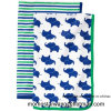 100% Cotton Printing Design of Baby Blanket with High Quality