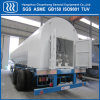 Cryogenic Liquid Storage Semi Trailer Tanker Lco2 Tanker