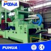 Roller Conveyor Wheel Blasting Machine for H Beam Rust Removal
