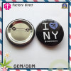 I Love New York Customer Design Pin Bottm Badge