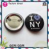 I Love New York Customer Design Pin Bottm Badge