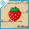 Custom Magnetic Strawberry Shape Epoxy 3D Fridge Magnet