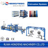 PP Sheet Extrusion Line of 250kgs Capacity (HFSJ100/33-700A)