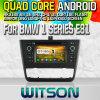 Witson S160 Car DVD GPS Player for BMW 1 Series E81 E82 E83 E87 E88 116I 118I with Rk3188 Quad Core HD 1024X600 Screen 16GB Flash 1080P WiFi 3G Front (W2-M170)