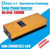 2000 Watt Solar Inverter on Grid Inverter with Limit/WiFi Function (optional)