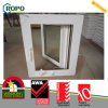 Double Glazing UPVC/ PVC French Window, Handcrank Window with Winder