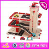2015 Kids Favorite Wooden Toy Car Garage, Hot Selling Parking Lot Toy, Wooden Car Play Set, Wooden Play Set Toy Car Garage W04b025