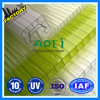 4mm Clear PC Hollow Sun Sheet as Greenhouse Coverings