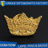 Custom 3D Logo Commemorative Badge with Gold Plated