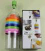 Bottle Shape 8 in 1 Multifunction Kitchen Tools Juicer Hand Blender