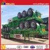 New! Tri-Axle Container Skeletal Truck Semi Trailer with 60ton