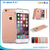Plastic Rose Gold PC Hard Case for iPhone6 iPhone 6s
