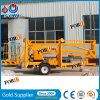 12m 200kg Electric Portable Aerial Man Lift for Sale