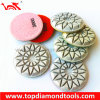 Floor Dry Polishing Pads with Resin Bond or Hybrid Bond