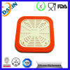 OEM Colorful Silicone Rubber Thermal Insulation Pad with Metal Inside