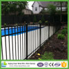 Custom Welded Iron Tubular Flat Top Pool Fencing