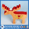 Wooden Reindeer for Christmas Candle Holder