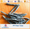 High Strength PP Polypropylene Twist Fiber Fibre19mm 48mm 54mm