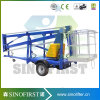 Good Quality Ce ISO Qualified One Person Towable Spider Boom Lift on Rent